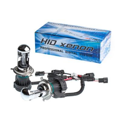 Биксеноновые лампы Optima Premium H4 Hi/Low, АС 12V (3000K, 4300K, 5000K, 6000K, 8000K)