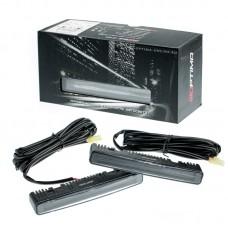 Дневные ходовые огни Optima Premium Universal Glide Black CREE