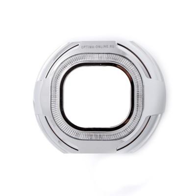 """Бленда Optima Z133 CCFL 3.0"""" для линзы 3.0 дюйма, квадратная, под установку """"Ангельских глазок"""" CCFL"""