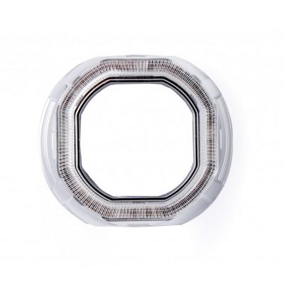 """Бленда Optima 261S CCFL 2.5"""" для линзы 2.5 дюйма, круглая, под установку """"Ангельских глазок"""" CCFL"""