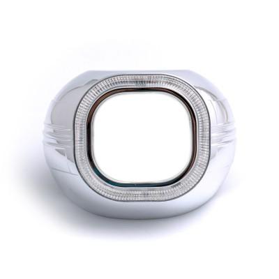 """Бленда Optima Z134 CCFL 3.0"""" для линзы 3.0 дюйма, квадратная, под установку """"Ангельских глазок"""" CCFL"""