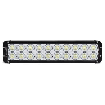 Балка светодиодная NANOLED NL-20200 D, 200W, 20 LED CREE X-ML T6, узкий луч, (дальний свет)