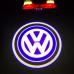 Подсветка двери светодиодная Optima Premium с логотипом VOLKSWAGEN (в штатное место, комплект 2шт)