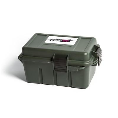 Ящик OffroadTeam ORT-Dry-912 для мелочевки, герметичный, тёмно-зелёный