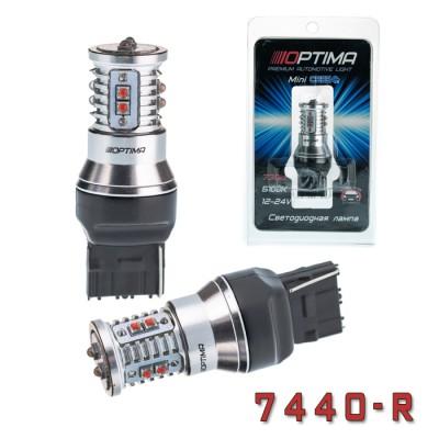 Светодиодная лампа Optima Premium OP-7440-R MINI CREE XB-D CAN 50W RED 12-24V (красная)