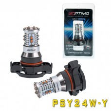 Светодиодная лампа Optima Premium OP-PSY24W-Y MINI CREE XB-D CAN 50W YELLOW 12-24V (жёлтая)