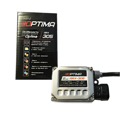 Блок розжига Optima Premium ARX-305 mini DC 9-16V 35W