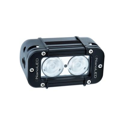 Фара светодиодная NANOLED NL-1020 B, 20W, 2 LED CREE X-ML, Широкий луч (ближний свет)