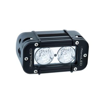 Фара светодиодная NANOLED NL-1020 E, 20W, 2 LED CREE X-ML, Euro (ближний свет c боковой засветкой)