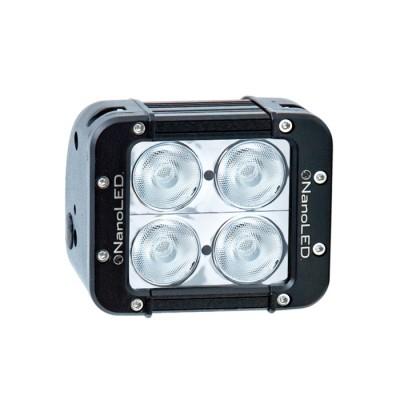 Фара светодиодная NANOLED NL-2040 B 40W, 4 LED CREE X-ML, широкий луч (ближний свет)