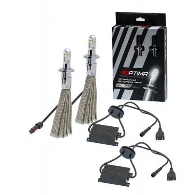 Светодиодные лампы Optima Led Premium Cobalt H4 4800K 12-24V (комплект 2шт.)