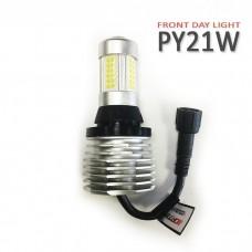 Светодиодные лампы INTELLED FDL PY21W (Front Day Light) - дхо с функцией поворотника и притухания