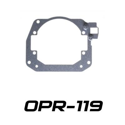 Переходные рамки на Toyota RAV IV (XA40) дорестайлинг для Optima Bi-LED