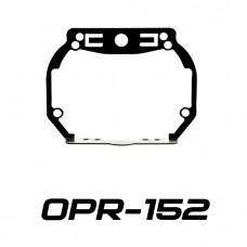 "Переходные рамки на Toyota Land Cruiser Prado IV (AFS) для Hella 3/3R (Hella 5R) / Optima Magnum 3.0"""