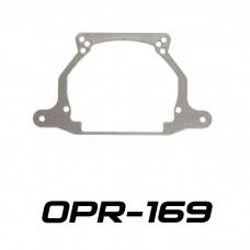 Переходные рамки на Hyundai Solaris I для Hella 3/3R (Hella 5R) / Optima Magnum 3.0
