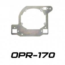 Переходные рамки на Toyota Land Cruiser Prado IV (J150) для Hella 3/3R (Hella 5R)