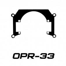 Переходные рамки OPR-33 на Honda VFR 1200X Crosstourer для Bi-LED
