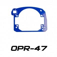 Переходные рамки на Chevrolet Captiva I для Optima Bi-LED