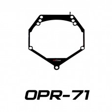 Переходные рамки на Volvo XC70, S80, BMW E90 для Hella 3/3R (Hella 5R), Optima Magnum 3.0