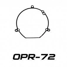 Переходные рамки на Hyundai Sonata IV/V (NF), Hyundai Grandeur IV (TG) для Hella 3/3R (Hella 5R), Optima Magnum 3.0