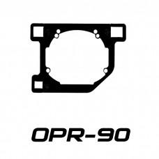 Переходные рамки на Lexus RX II для Hella 3/3R (Hella 5R) / Optima Magnum 3.0
