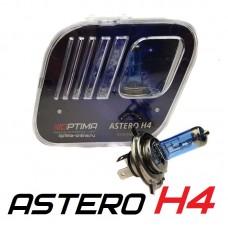 Галогенные лампы Optima Astero H4 +80% White 5000K