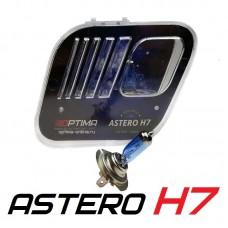 Галогенные лампы Optima Astero H7 +80% White 5000K