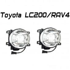 Светодиодные противотуманные фары  OPTIMA LED FOG LIGHT-568 Toyota LC200/RAV4