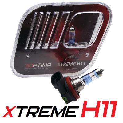 Галогенные лампы Optima Xtreme H11 +130% 4200K