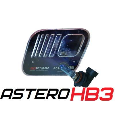Галогенные лампы Optima Astero HB3 +80% White 5000K
