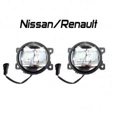 Светодиодные противотуманные фары  OPTIMA LED FOG LIGHT-881 Nissan/Renault