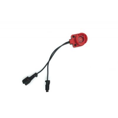 Переходник XR-SQ-24/2 c блока КЕТ-02 к лампе D2S/D2R Slim (Красный плоскийигнитор)