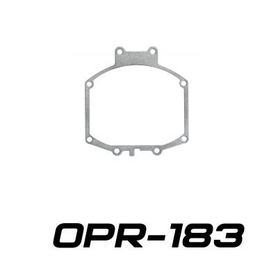 """Переходные рамки OPR-183 на Mitsubishi Pajero IV дорестайлинг для Optima Q5/Q5 Versus 3.0"""""""