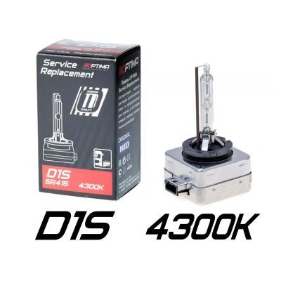 Штатные ксеноновые лампы Optima Premium D1S Original HID SR415 (Service Replacement)