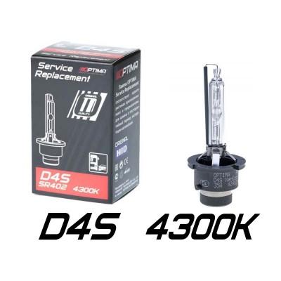 Штатные ксеноновые лампы Optima Premium D4S Original HID SR402 (Service Replacement)