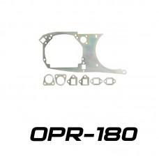 Переходные рамки на Toyota Supra IV для Hella 3/3R (Hella 5R) / Optima Magnum 3.0'