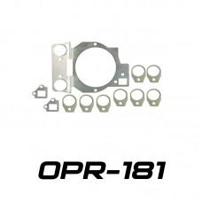 Переходные рамки на Toyota Supra IV для Optimа Micro Round 1.8