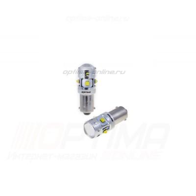 Светодиодная лампа  Optima Premium T4W (Ba9S) MINI 30W 5100K CAN