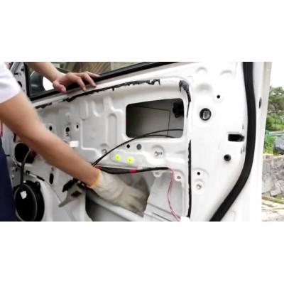 Шумоизоляция дверей автомобиля