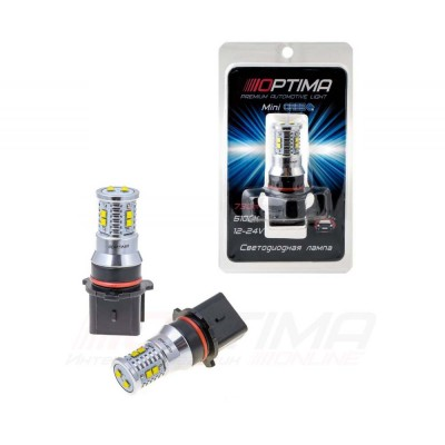 Светодиодная лампа Optima Premium MINI P13W белая с обманкой