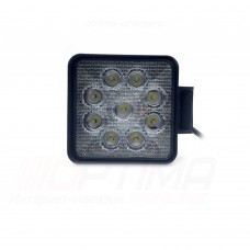 Светодиодная фара-прожектор 27W, 9 LED Ds