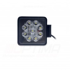 Фара светодиодная 48W, 16 LED - узкий луч