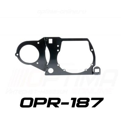 """Переходные рамки на Mitsubishi Outlander III дорестайлинг для Optima Bi-LED Professional Series 3.0"""" / Optima 5R/5R-TQ (Hella 3) / Optima Q5 3.0"""""""