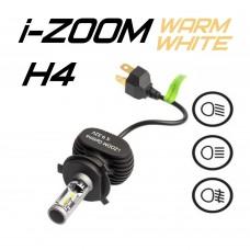 Светодиодные лампы Optima LED i-ZOOM H4 Warm White 4200K