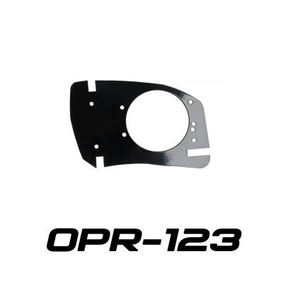 Переходная рамка OPR-123 на Honda CBR для Optima Bi-LED AS