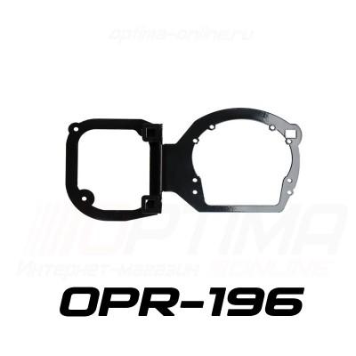 Переходные рамки на Chevrolet Captiva (2012+) для Optima Bi LED PS/IS/Optima 5R