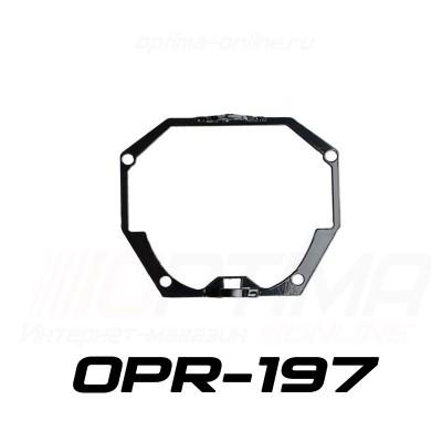 Переходные рамки на Infiniti EX AFL (2007-2014) для Optima Bi LED PS/IS/Optima 5R
