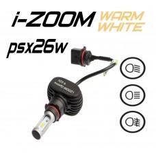 Светодиодные лампы Optima LED i-ZOOM PSx26 4200K 9-32V (комплект 2шт.)