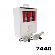 Штатные дневные ходовые огни Optima LED PHOTON с функцией поворотника  цоколь 7440, WY21W, W21W, W3X16, 12V, комплект 2 шт.
