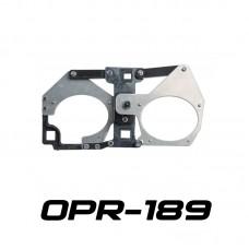 Переходные рамки OPR-189 на Toyota LC200 (2015-н.в.) Optima Bi LED PS/IS/Optima 5R в обе секции штатных линз LED Koito